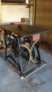J. M. Marston's 1880s Hand and Foot Powered Saw
