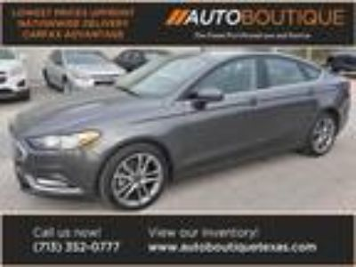 used 2017 Ford Fusion for sale.