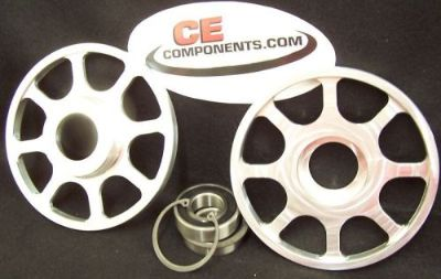 "Purchase 6"" Billet upper idles Wheels for 08 & up Skidoo snowmobile motorcycle in Eagle, Idaho, United States, for US $85.95"