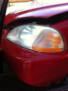 Find Honda Head Light Assembly '97 LH Left Driver side motorcycle in Nappanee, Indiana, US, for US $39.99