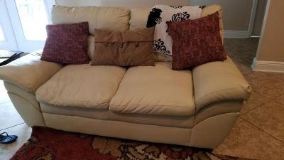 Love Seat with free couch