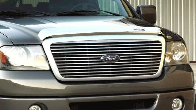 Purchase LOOK NEW! OEM 2004-2008 FORD F150 LARIAT CHROME BILLET GRILLE 7L3Z-8200-BA motorcycle in Branford, Connecticut, US, for US $348.97