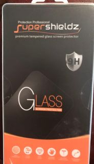 Super Shieldz tempered glass screen protector for Galaxy S6 Active. 2 pack still in packaging. $10.