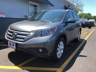 2012 Honda CR-V EX-L (Gray)