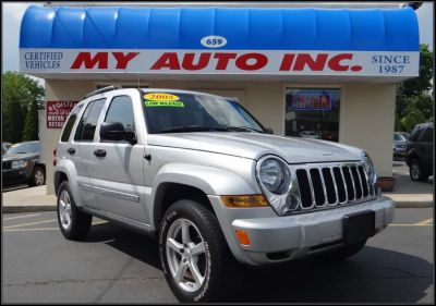 2005 Jeep Liberty Limited (Bright Silver Metallic)