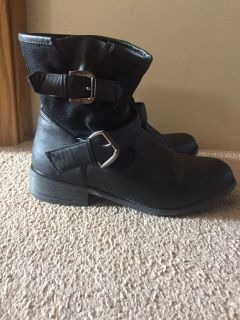 GUC Black Size 9 Boots