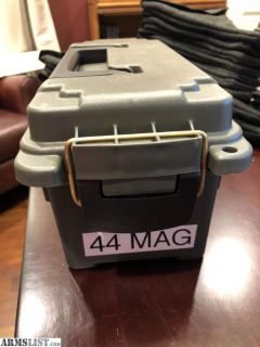 For Sale: 150 rounds of 44 Magnum ammo in ammo can