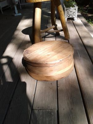 Wooden cheese tub