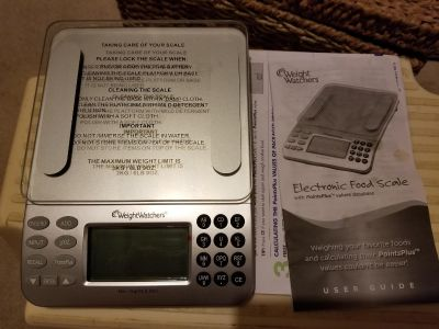 New without box weight watchers electronic food scale