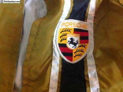 Vintage Porsche jackets, wind breakers