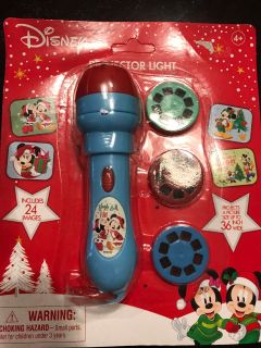 Mickey Mouse flashlight projector BRAND NEW