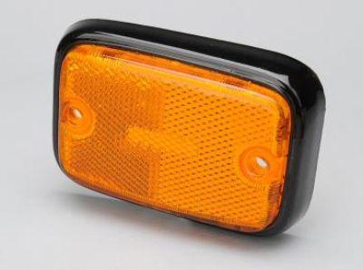 2 New Orange Bus Reflectors Set