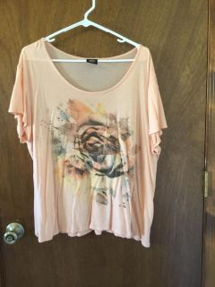Coral flower top