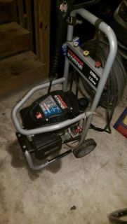 PowerStroke gas washer 140CC DHV with gun (50Ft ext. cord)
