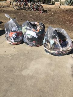 3 huge bags of women s clothes and shoes