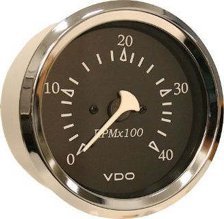 Buy VDO Allentare Black 4000RPM Diesel Tachometer (Alternator) 333-11269 motorcycle in Torrance, California, United States, for US $120.00
