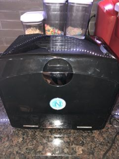 Portable mini fridge and warmer - great for baby bottles and road trips