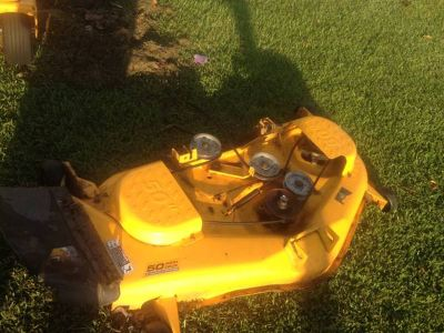 Cub Cadet zero turn mower.