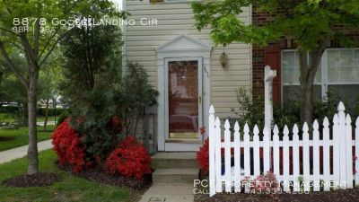 Cozy end of group townhome in Howard County