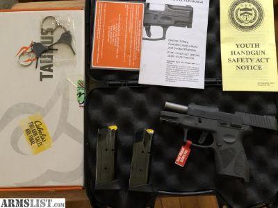 For Sale: Taurus PT111G2 9mm
