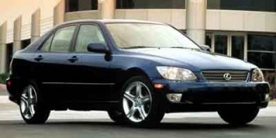 2001 Lexus IS 300 Base (Silver)