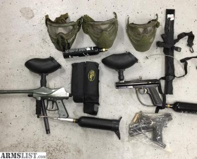 For Sale: Paintball Equipment