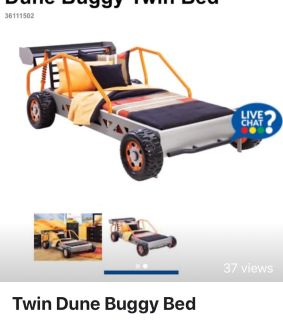 Twin Dune Buggy Bed Frame