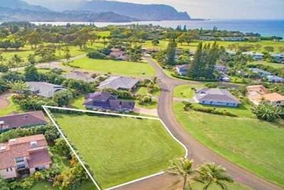 3956 Kalakaua Pl Princeville, Unique corner building lot in