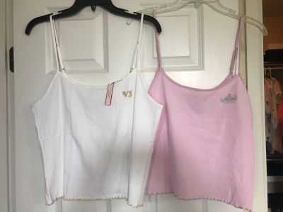Victoria s Secret Large Sleep Camis $10 for both