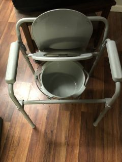 Portable Adult Potty Chair