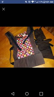 Beco Butterfly 2 Baby Carrier. Organic cotton. VGUC X posted