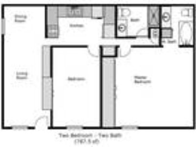 Camelia Square Apartments - Two BR Two BA