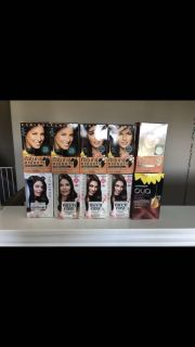 Lot of 10 boxes of new unopened hair color