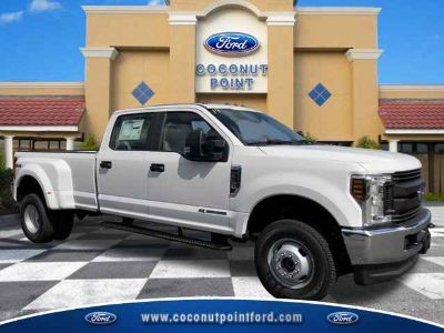 2019 Ford Super Duty F-350 DRW XL 4x4 SD Crew Cab 8 ft. box 176 in. WB DRW