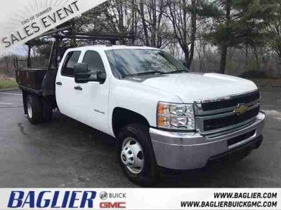 2013 Chevrolet Silverado 3500HD Duramax Dual Rear Wheel Work Truck 3.73 Axle