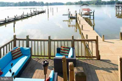 299 Mattox Ave Colonial Beach Three BR, just listed on the water!