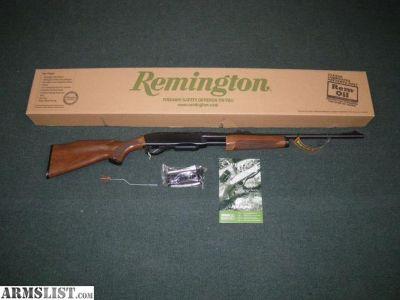 """For Sale: Remington 7600 Pump-Action Rifle 30-06 22"""" NIB"""