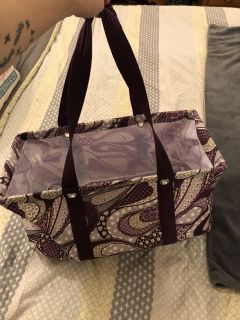 Thirty One large utility tote. Final
