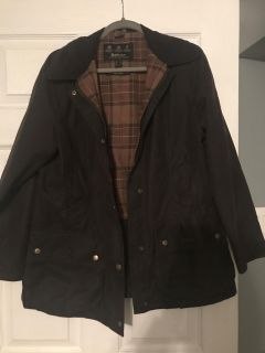 Brown Barbour Jacket Size 10 $225 OBO