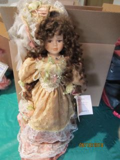 Porcelain doll - CATHAY collection 1 of 5000 - Kelly