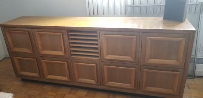Mid Century Solid Wood Cabinets