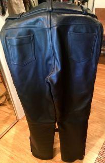Leather MC pants