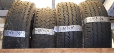 Tires { used }