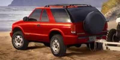 2003 Chevrolet Blazer LS (Light Pewter Metallic)