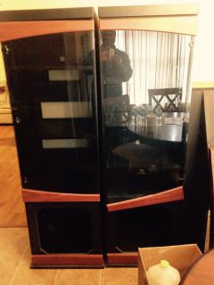 $200, 55 inch TV and entertainment center for sale