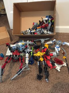 Several Bionicles