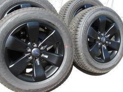 Purchase 2013 F150 WHEELS TIRES RIMS 20 FX4 BLACK TAKE OFFS OEM BRIDGESTONE 275 55 20 motorcycle in Coopersburg, Pennsylvania, US, for US $1,300.00