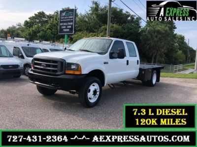 2000 Ford F450SD XL (White)