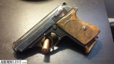 For Sale: WW2 walther ppk, 7.65, zella-mehlis