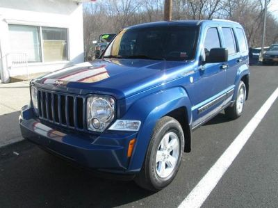 2010 Jeep Liberty Sport (Deep Water Blue Pearl)